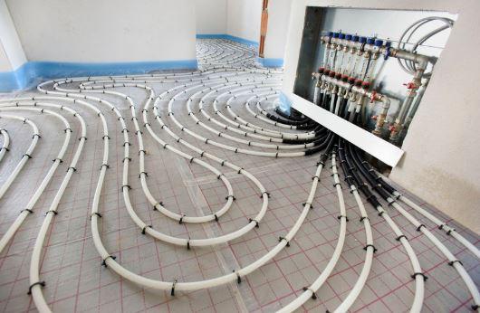 padlófűtés szerelés