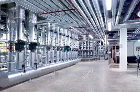 központi fűtés rendszer